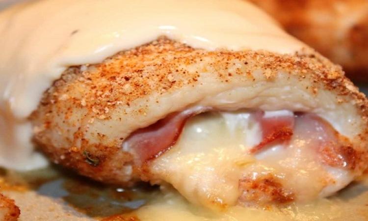 طبق اليوم .. صدور فراخ بالجبن الموزاريلا