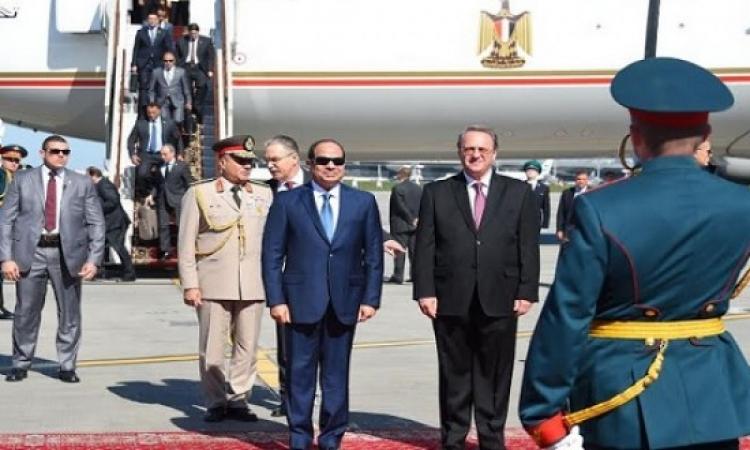 السيسى يلتقى رئيس الدوما الروسى ويؤكد: تشكيل البرلمان المصرى نهاية العام الجارى