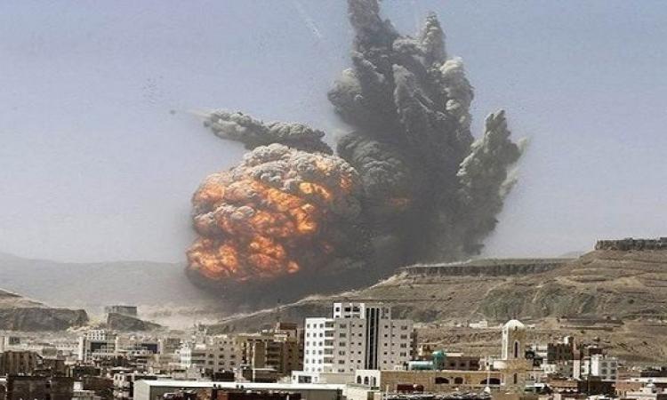 طائرات التحالف تقصف مقر الشرطة العسكرية بالعاصمة اليمنية صنعاء