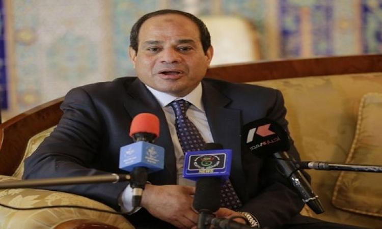 السيسي يدعو لمؤتمر صحفى لشجب الأحداث التى يشهدها الحرم الأقصى على يد جنود الأحتلال