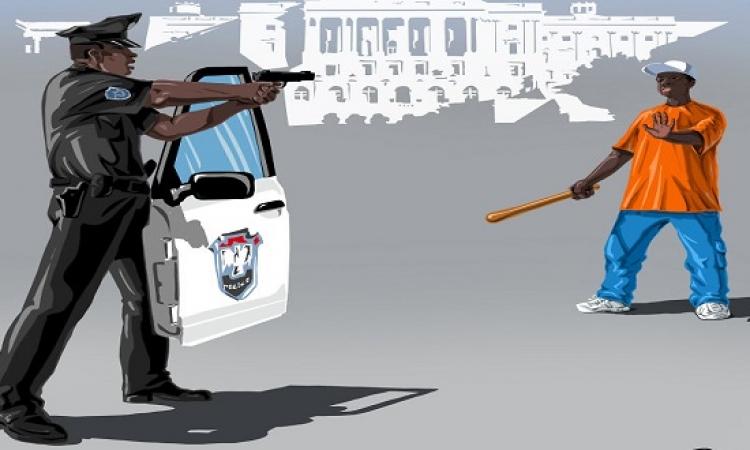 بالكاريكاتير .. الشرطة حول العالم : على كل لون يا .. داخلية!!