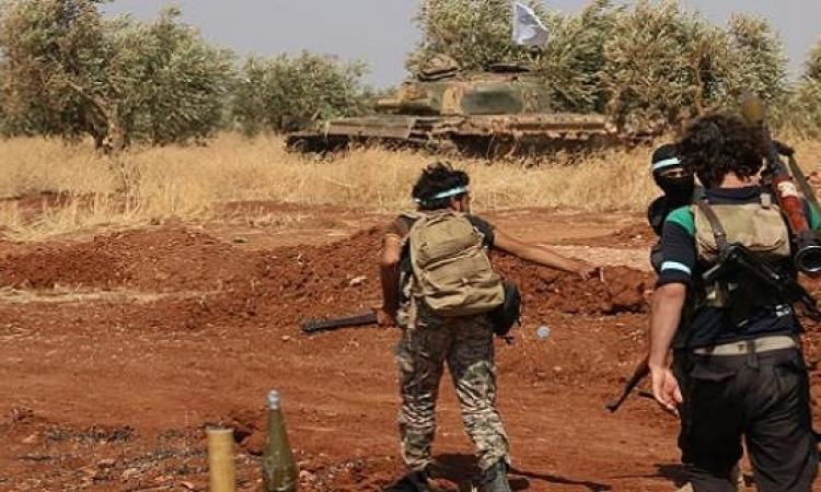 المعارضة المسلحة فى سوريا تسيطر على مطار بأدلب