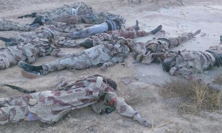مقتل 35 مسلحاً فى شمال سيناء فى اطار عملية حق الشهيد