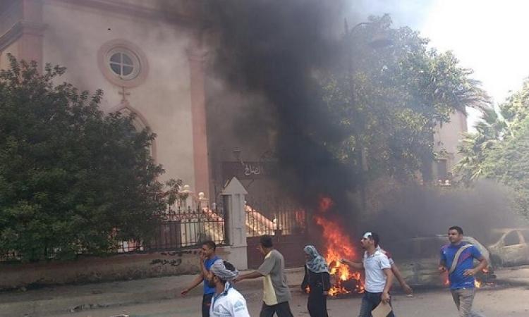 المؤبد لـ31 إخوانيًا والمشدد لـ 88 آخرين بقضية حرق كنيسة مار جرجس