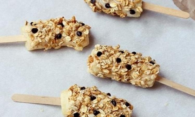 حلوى الموز للفطور لذيذة وصحية للأطفال