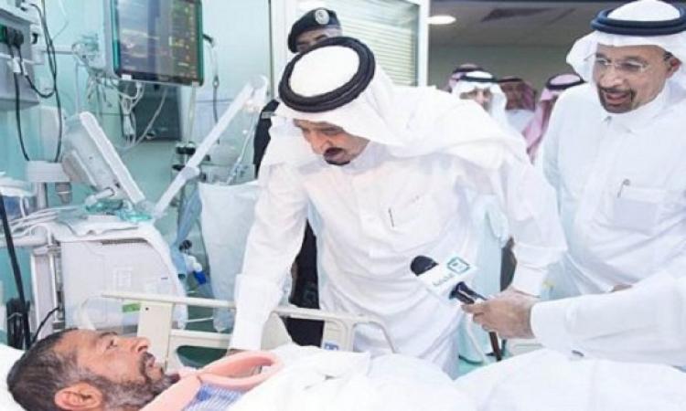 الملك سلمان بن عبد العزيز يصرف تعويض مليون ريال لمتضررى حادث رافعة الحرم المكى
