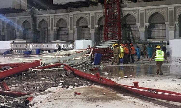 ارتفاع ضحايا حادث رافعة الحرم إلى 107 حالة وفاة و238 اصابة