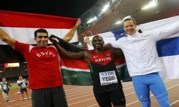 عودة منتخب مصر لألعاب القوى القادم من الصين