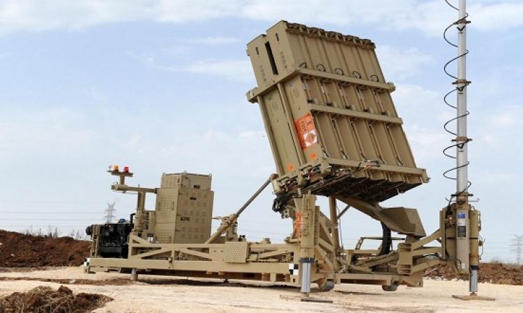 السلطات الاسرائيلية تنشر منظومة القبة الحديدية المضادة للصواريخ جنوب البلاد