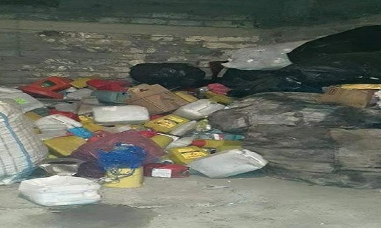 وزارة البيئة تضبط 25 طن نفايات طبية بقرية بالمنصورة