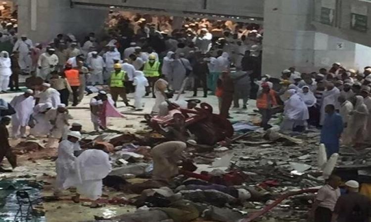 جهاز الدفاع المدنى السعودى: 52 قتيلًا فى سقوط رافعة بالحرم المكى