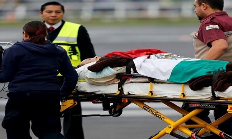 وصول جثامين 8 مكسيكيين من ضحايا حادث الواحات لمطار القاهرة