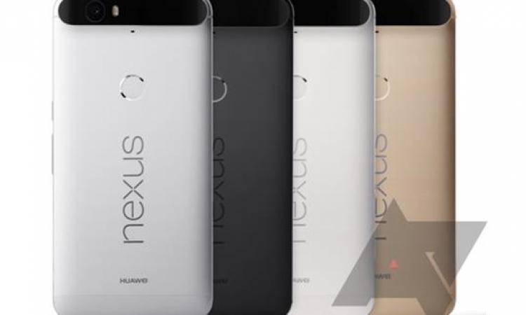 """هاتف """"Nexus 6P"""" سيتوفر بأربعة ألوان متنوعة"""