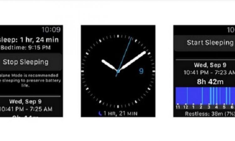 تطبيق جديد لساعة أبل Sleep ++ يزودك بمعلومات عن طريقة نومك