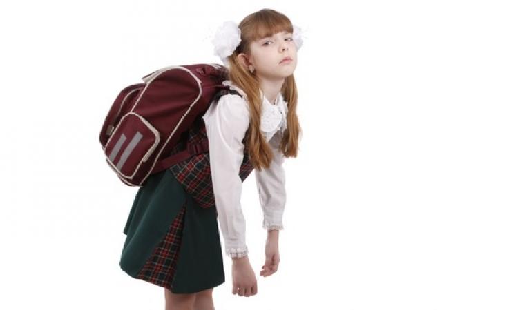 10 مواصفات صحية للشنطة المدرسية