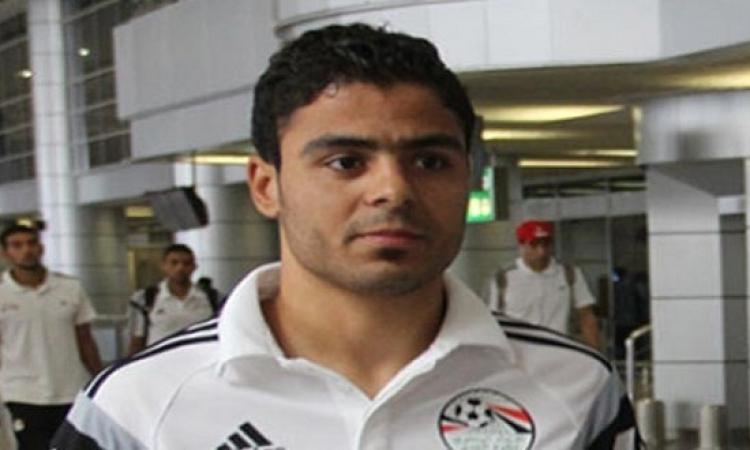 إبراهيم عبد الخالق لاعب وسط الزمالك يعتذر عن المشاركة فى مباراة وادى دجلة