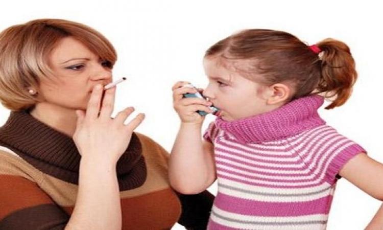 التدخين السلبى وتأثيره السىء على الأطفال