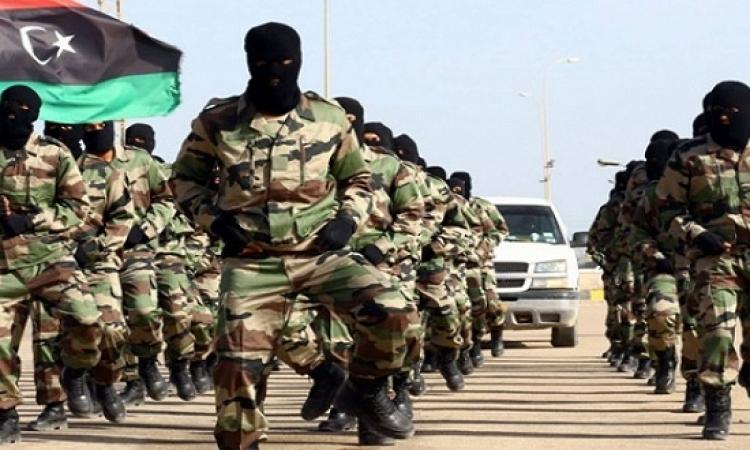 22 جندى بالجيش الليبى يلقى مصرعهم فى اشتباكات مع قوات مجلس الشورى