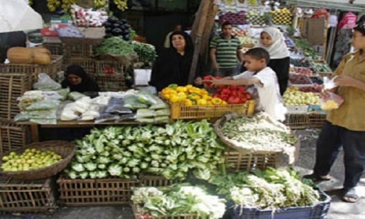 التموين : يتم ضخ 150 طن يوميا من الخضروات والفاكهه بأسعار مخفضة للأسواق