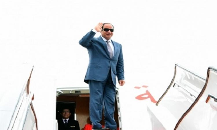 الرئيس السيسى يبدأ زيارة رسمية لأوغندا تستمر يوماً واحداً