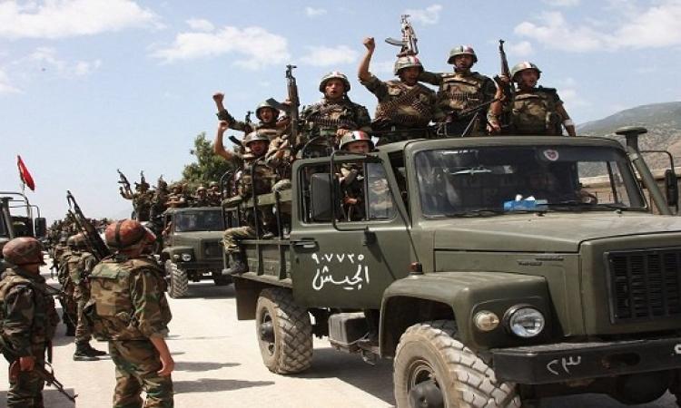 """القوات السورية تسيطر على منطقة """"الخريطة"""" بدير الزور"""