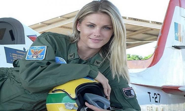 بالصور .. حقيقة باليسلافا الروسية مدمرة معاقل داعش : طلعت عارضة أزياء برازيلية !!