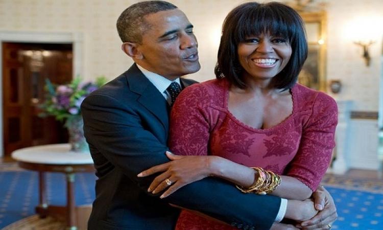بالصور .. أوباما يحتفل بعيد زواجه الـ23 من ميشيل.. والبيت الأبيض يهنئه