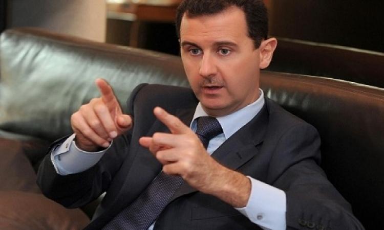الأسد : السعودية وتركيا وقطر دربوا داعش .. والغرب دعَّمهم