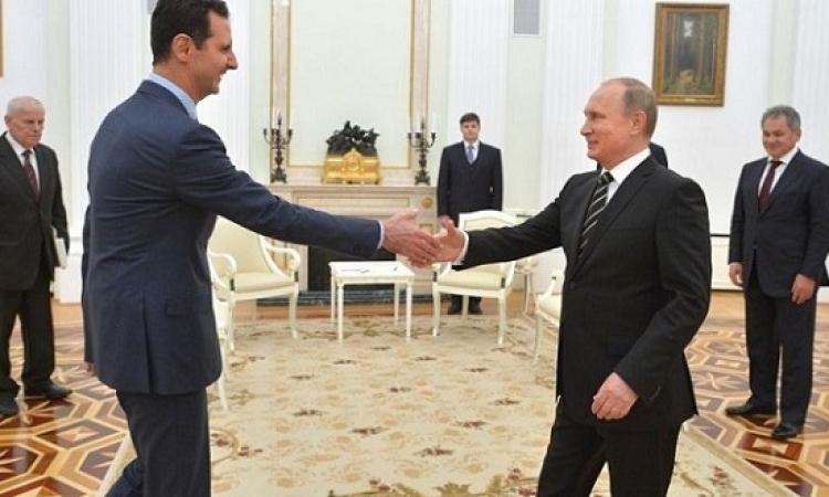 بالصور .. زيارة سرية للأسد إلى موسكو لم يعلن عنها إلا بعد انتهائها