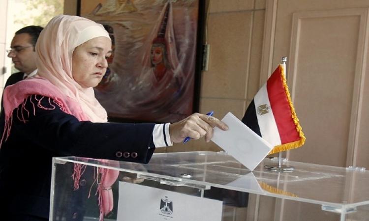 تواصل تصويت المصريين بالخارج على الدوائر الأربعة المؤجلة