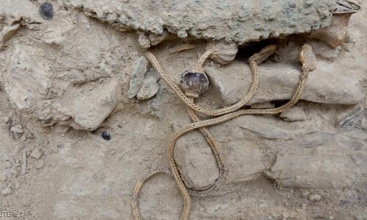 اكتشاف كنز من الذهب فى اليونان يعود لما قبل التاريخ