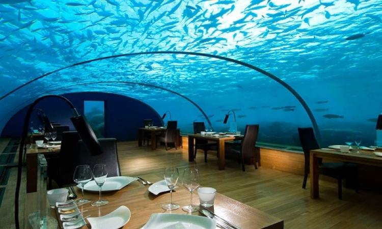 بالصور .. أشهر الفنادق تحت الماء .. هتعيش مع السمك !!