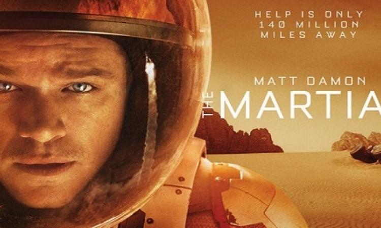 فيلم The Martian يتخطى 55 مليون دولار فى 3 أيام