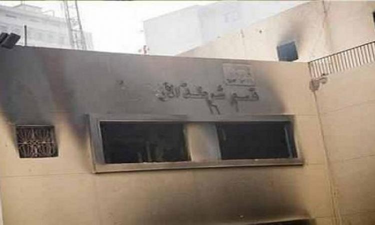 مصابان جراء انفجار عبوة ناسفة فى محيط قسم الأزبكية