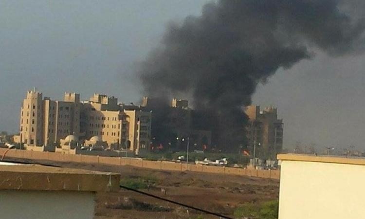 نجاة نائب الرئيس اليمنى بحاح إثر قصف مقر اقامته فى عدن بالصواريخ