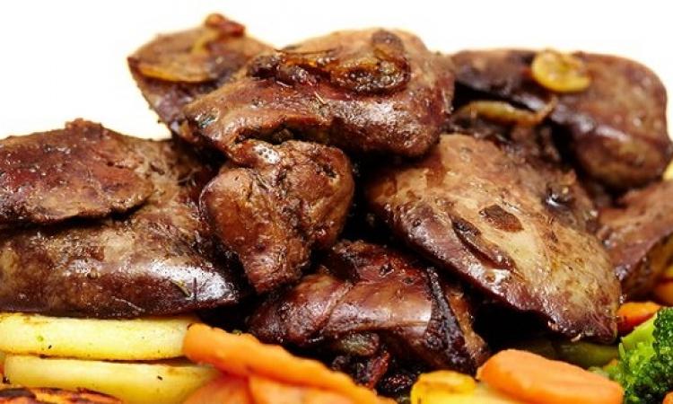 طبق اليوم .. كبدة الدجاج بالبطاطس المحمرة بنكهة الشواء