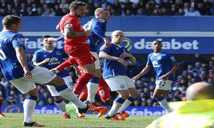 ليفربول يتعادل مع إيفرتون فى ديربى المرسيسايد للمرة الثالثة على التوالى