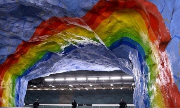 مترو ستوكهولم .. أطول متحف فنى بالعالم