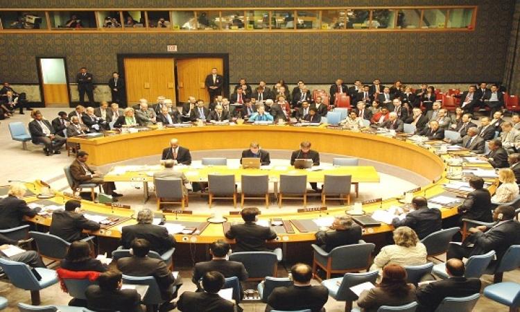 سامح شكرى يناقش عضوية مصر فى مجلس الأمن مع رئيس الجمعية العامة