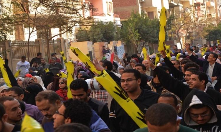 قوات الأمن تفرق مسيرة للإخوان بـ6 أكتوبر.. وتضبط 3 من المشاركين