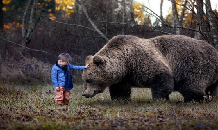 بالصور .. تصوير مدهش لبراءة الأطفال فى مغامرات مذهلة