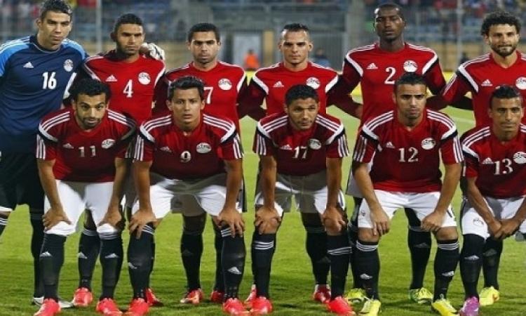 منتخب مصر يفوز بثلاثية نظيفة على زامبيا فى ودية الامارات