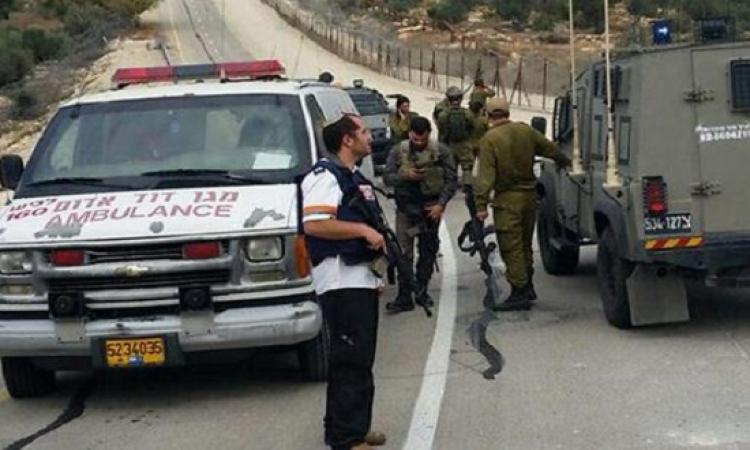 مصرع مستوطن إسرائيلى دهسه سائق شاحنة فلسطينى بالخليل