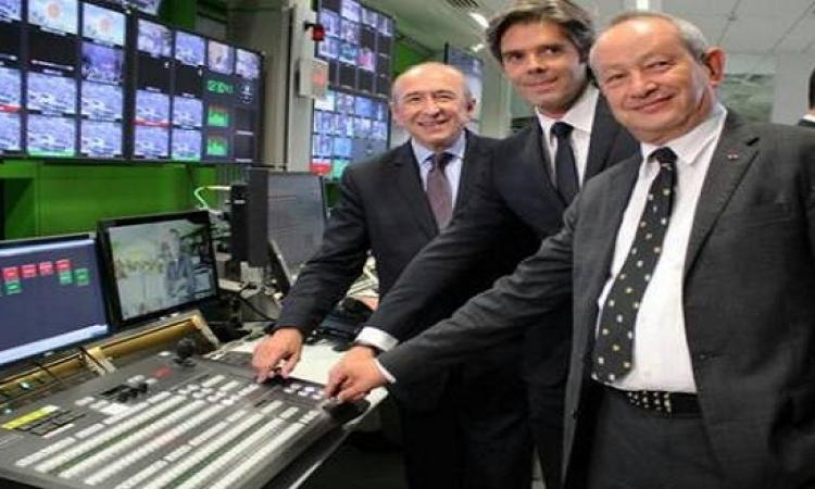 بالصور والفيديو .. ساويرس يفتتح المقر الجديد لشبكة يورو نيوز فى فرنسا