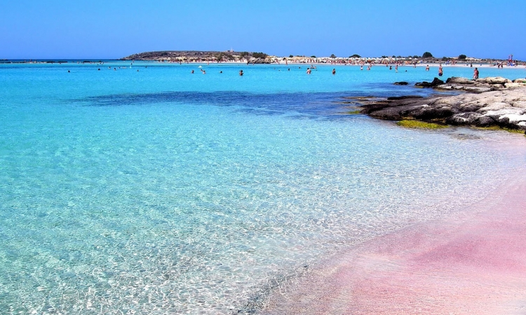 شاطئ الرمال الوردية.. عندما تجتمع الروعة والجمال والسحر