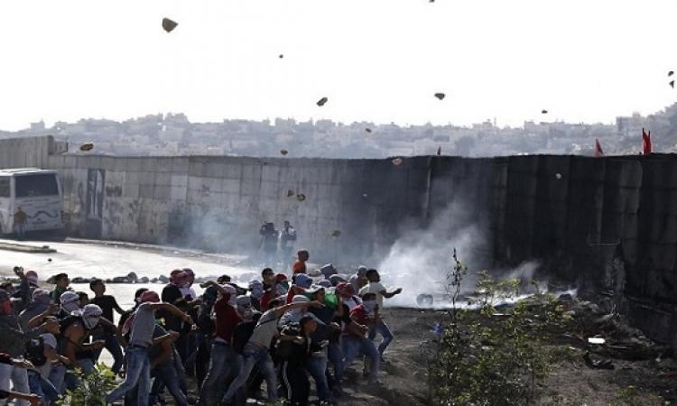 احتجاجات فلسطينية واسعة على قانون راشقى الحجارة