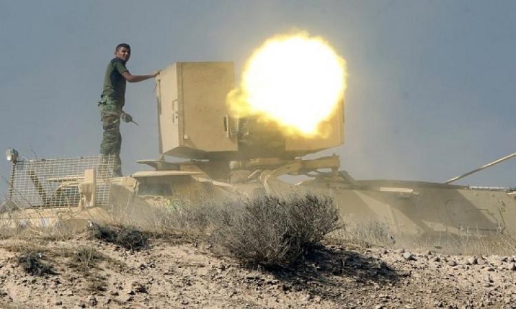 21 قتيلاً من داعش فى اشتباكات مع الجيش العراقى قرب الرمادى