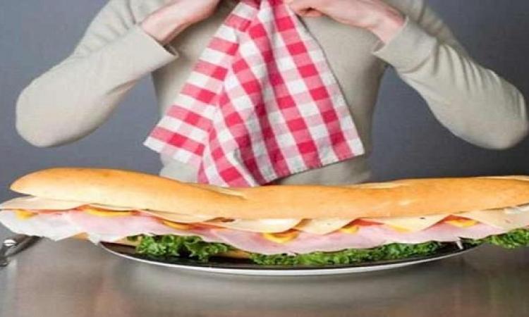 كف يديك ميزان صادق وحساس لحميتك الغذائية