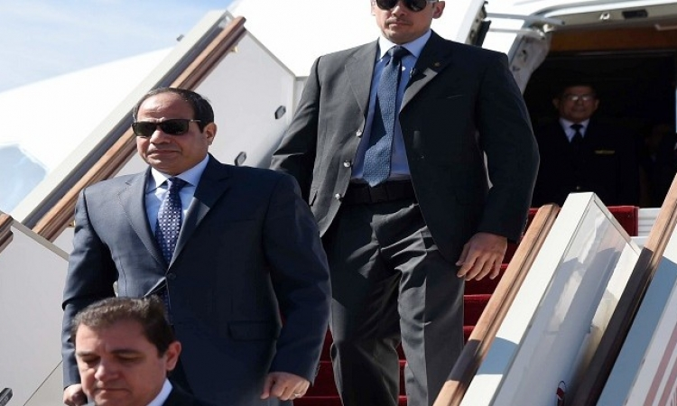 الرئيس السيسى يتوجه إلى الإمارات فى زيارة رسمية تستمر يومين