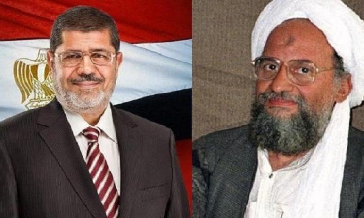 """بالفيديو .. داعش : الظواهرى """" المعتوه """" مدح مرسى """" عدو الله """" !!"""